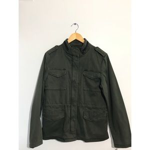 Levi's Strauss Army Green Coat